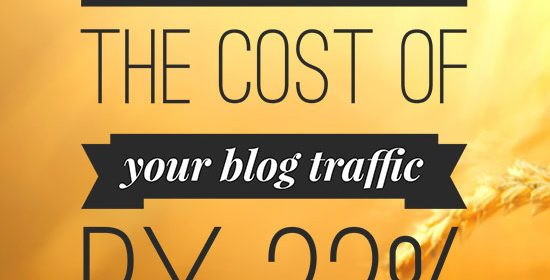 How to cut the cost of your blog traffic by 22%