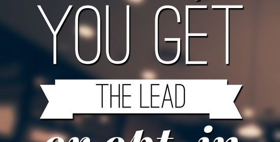 What to do after you get the lead or opt-in